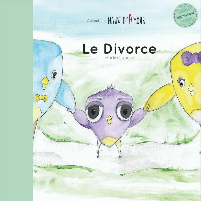 Couverture du livre sur le divorce expliqué aux enfants