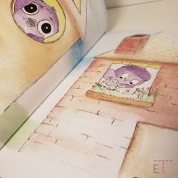 Image de l'intérieur du livre sur le divorce chapitre pour les 0-3 ans
