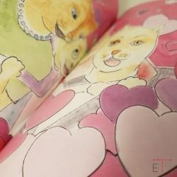 Photo de l'intérieur du livre sur la séparation